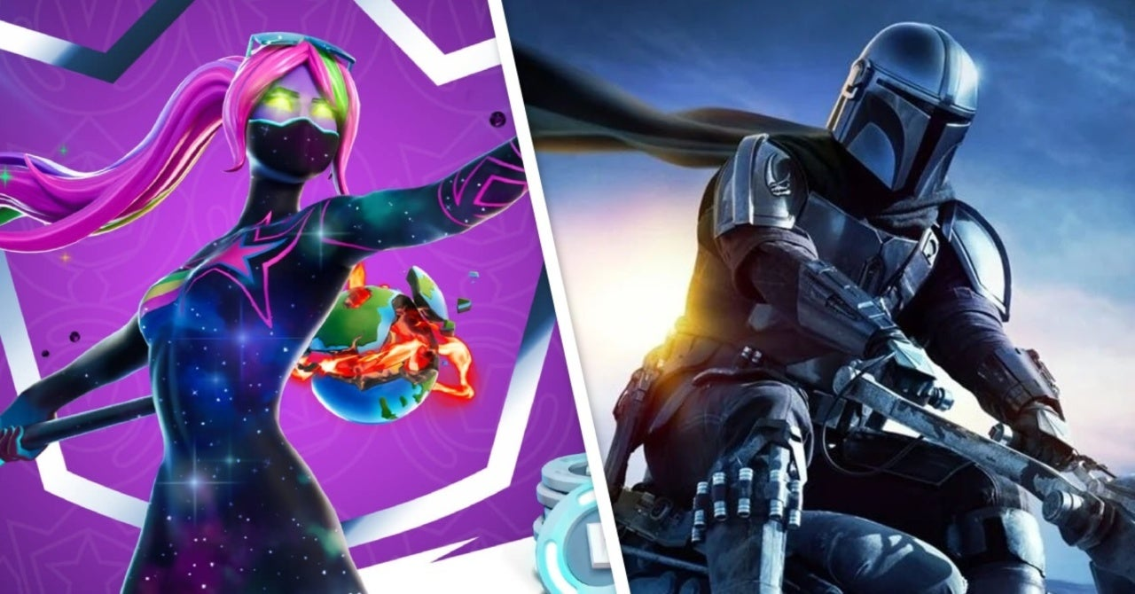 Fortnite Season 5 Teaser Seems To Hint At The Mandalorian Crossover The mandalorian is now a boss inside fortnite, so you can defeat him and take his rifle and jetpack for yourself. fortnite season 5 teaser seems to hint