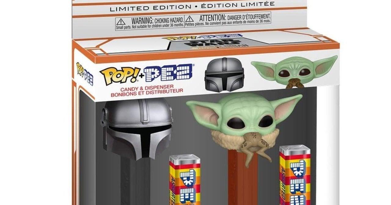 Funko Pop Pez Disney Star Wars The Mandalorian /& The Child Candy Dispenser