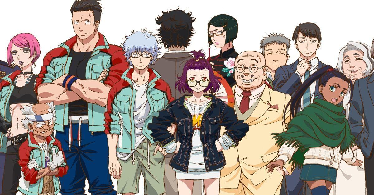 Godzilla Singular Point Netflix Anime Characters