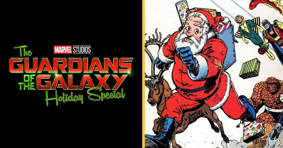 guardians of the galaxy holiday special santa