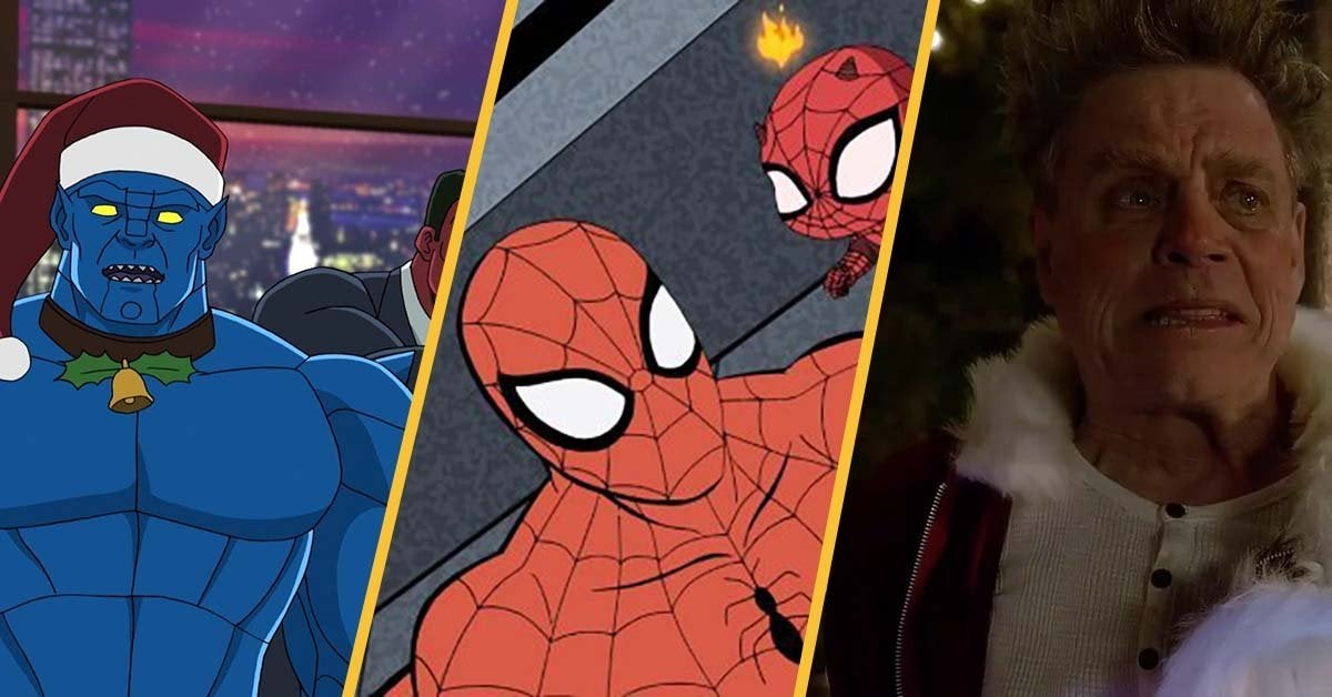 holiday superhero television episodes
