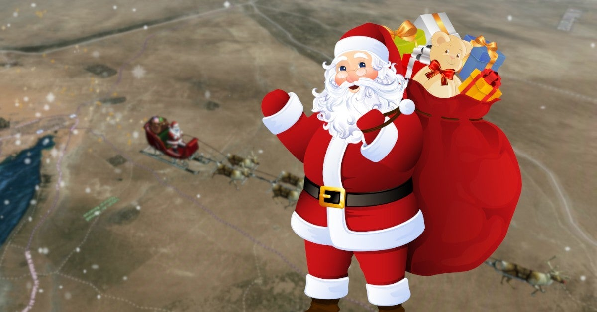 How to Track Santa Claus on Christmas Eve Norad Santa Tracker