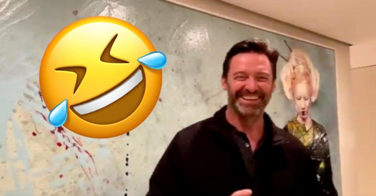 Hugh Jackman Shares Embarrassing Blooper Video