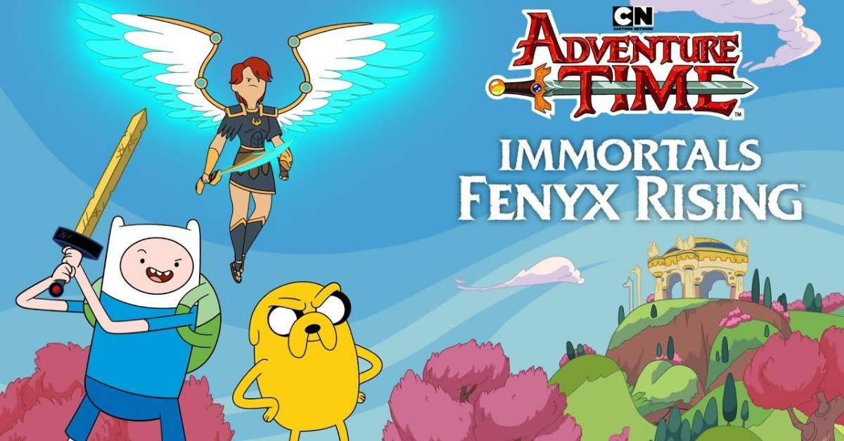 Immortals Fenyx rising Adventure Time