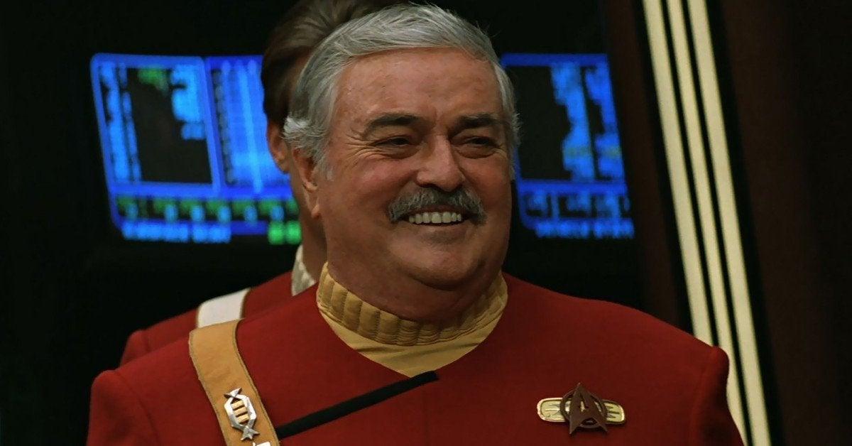 James Doohan Ashes ISS Star Trek Scotty