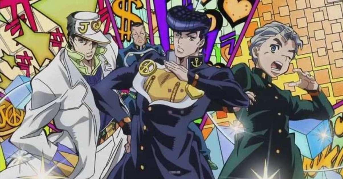 JoJo Diamond Is Unbreakable Manga
