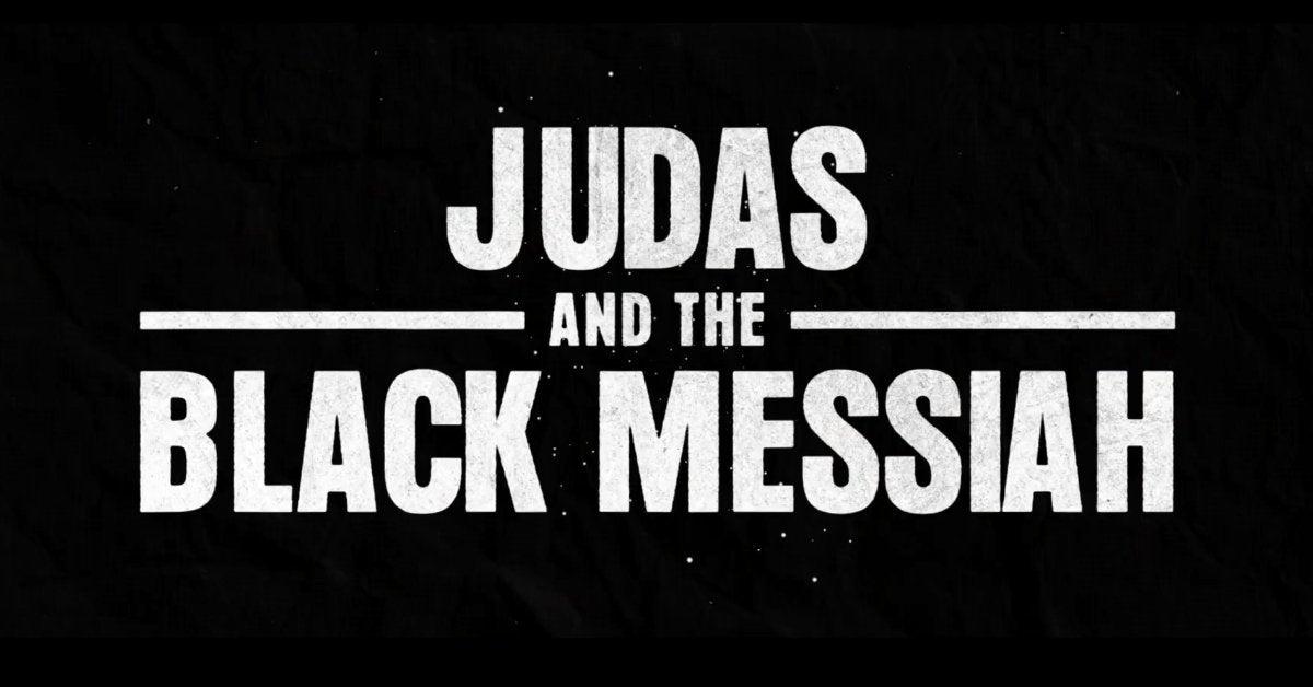 judas and the black messiah movie logo 2021