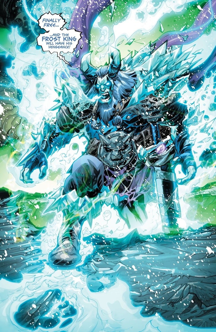 justice league endless winter frost king 1