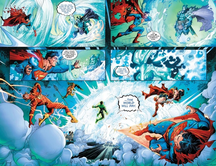 justice league endless winter frost king 2