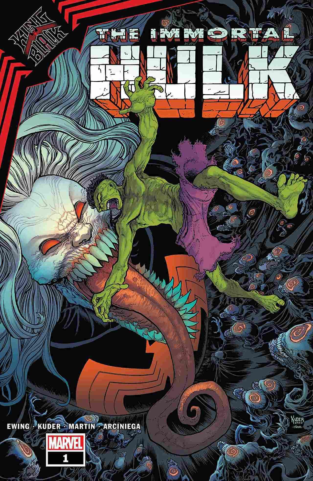King in Black Immortal Hulk #1