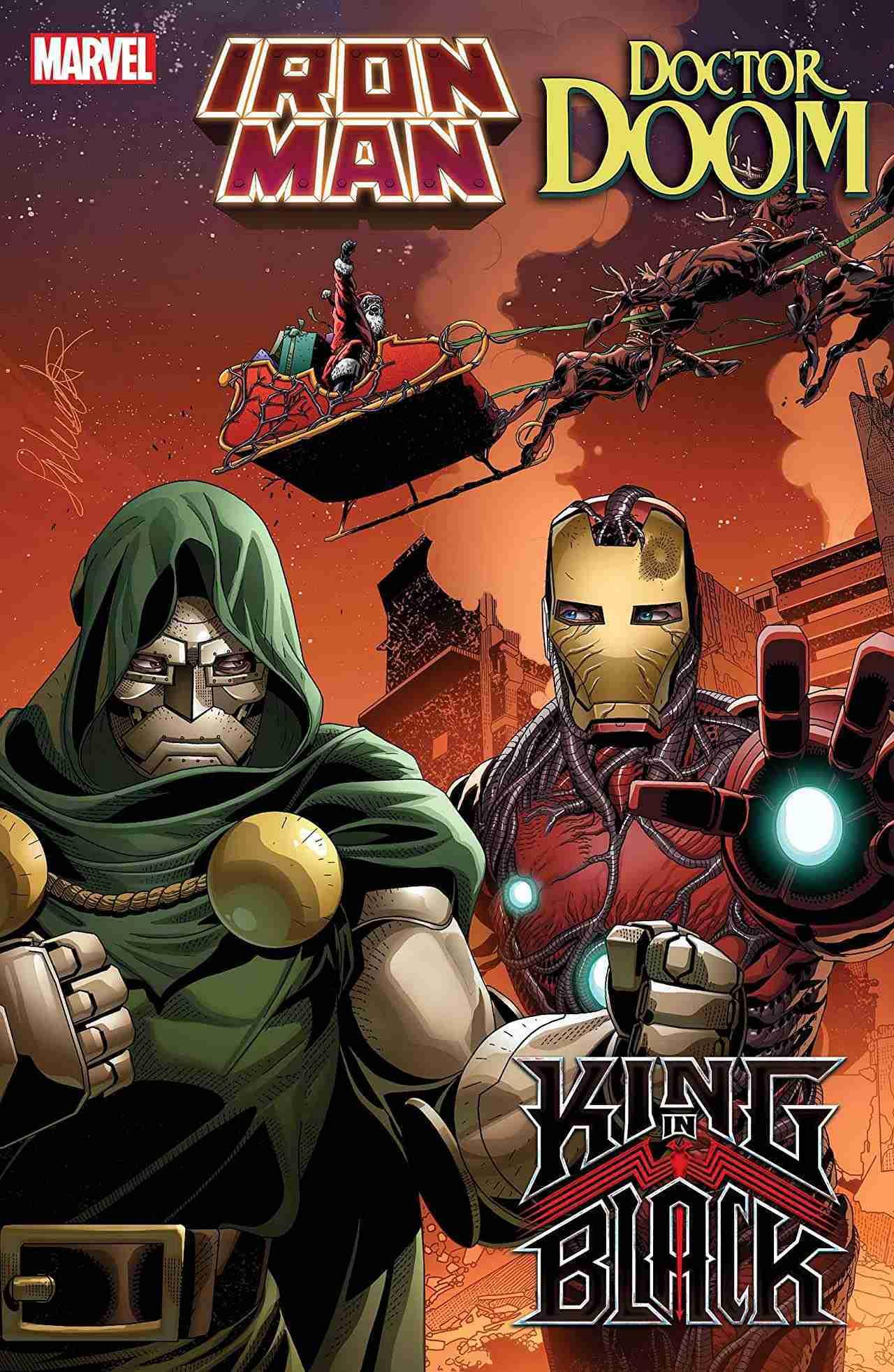King in Black Iron Mand Doom #1