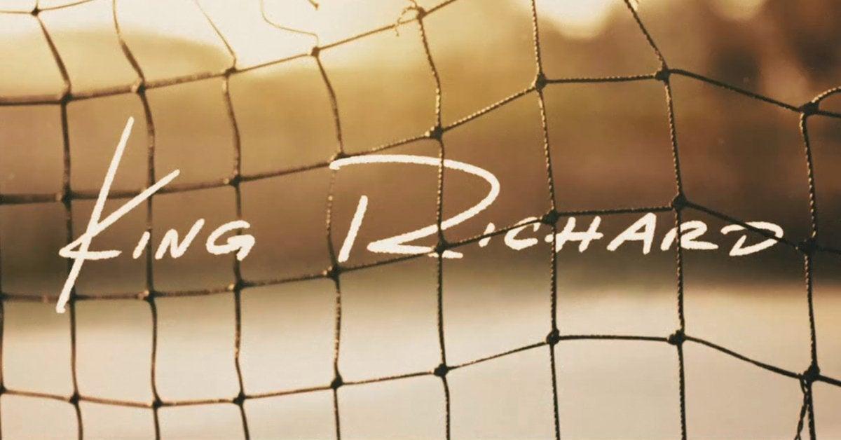 king richard movie logo 2021