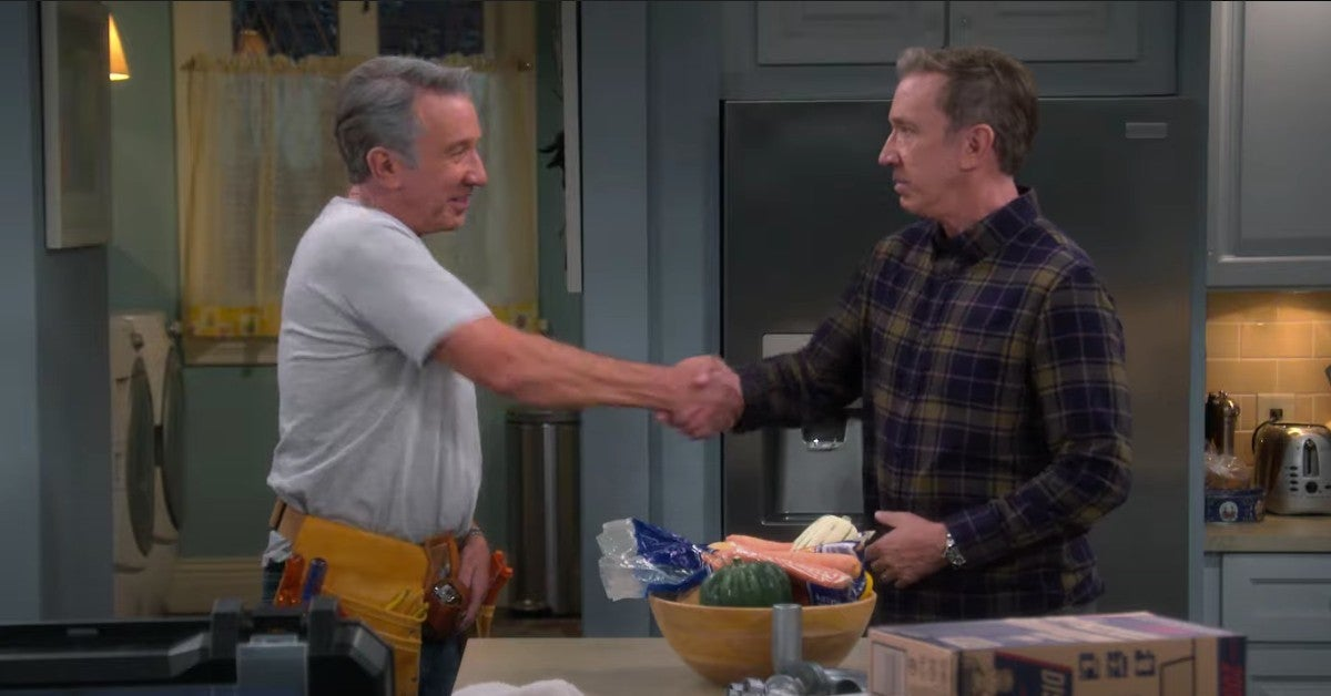 Last Man Standing Home Improvement Crossover Tim Allen Season 9
