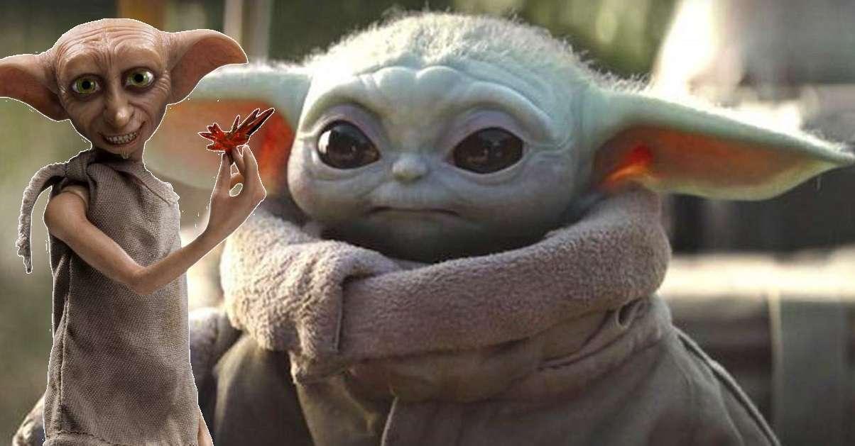 Mandalorian Baby Yoda Dobby Bootleg