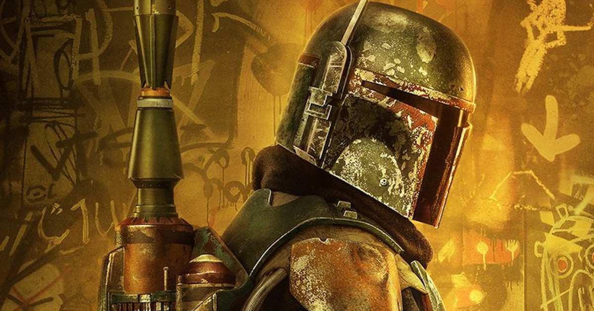 Mandalorian Boba Fett Star Wars Poster