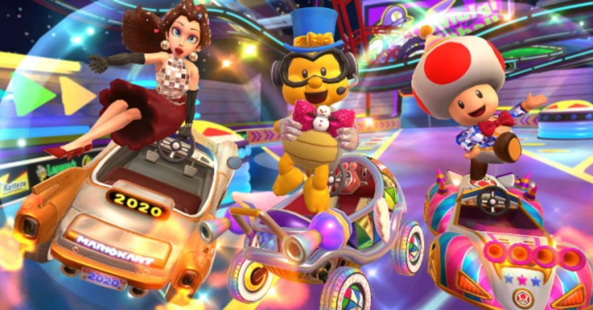 Mario Kart Tour NYE