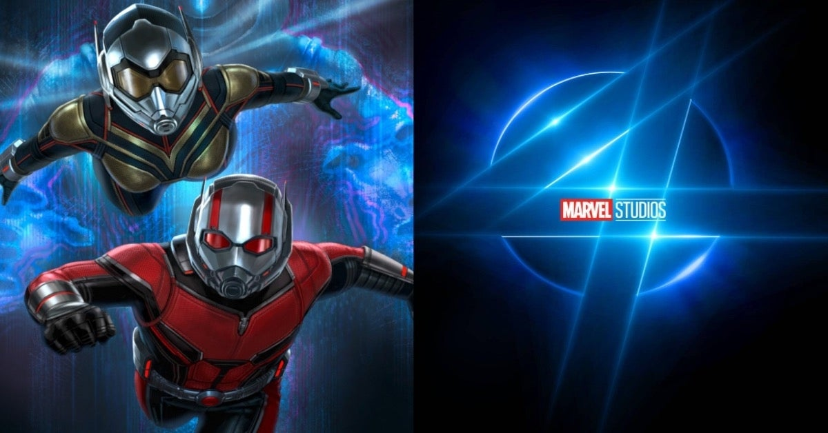 Marvel Ant-Man Wasp Quantumania Fantastic Four COMICBOOKCOM