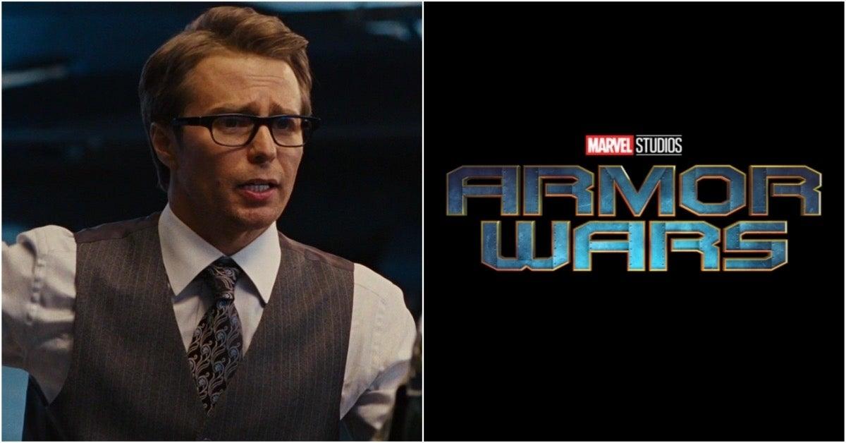 Marvel Armor Wars Iron Man 2 Justin Hammer Sam Rockwell