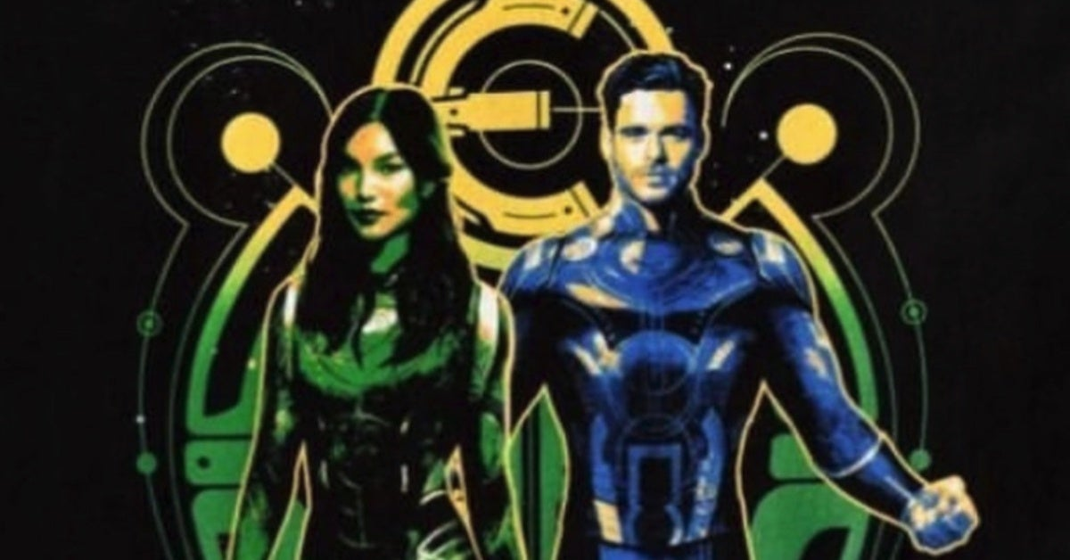 Marvel Eternals Sersi Ikaris Promo Images