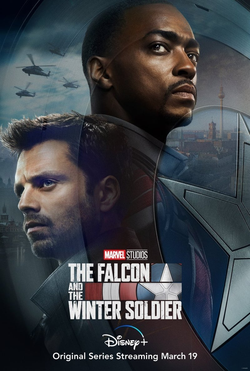 Marvel's The Falcon and The Winter Soldier Poster Released by Disney+