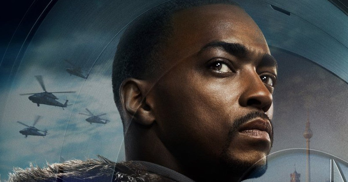 Marvel Falcon And The Winter Soldier Poster 2021