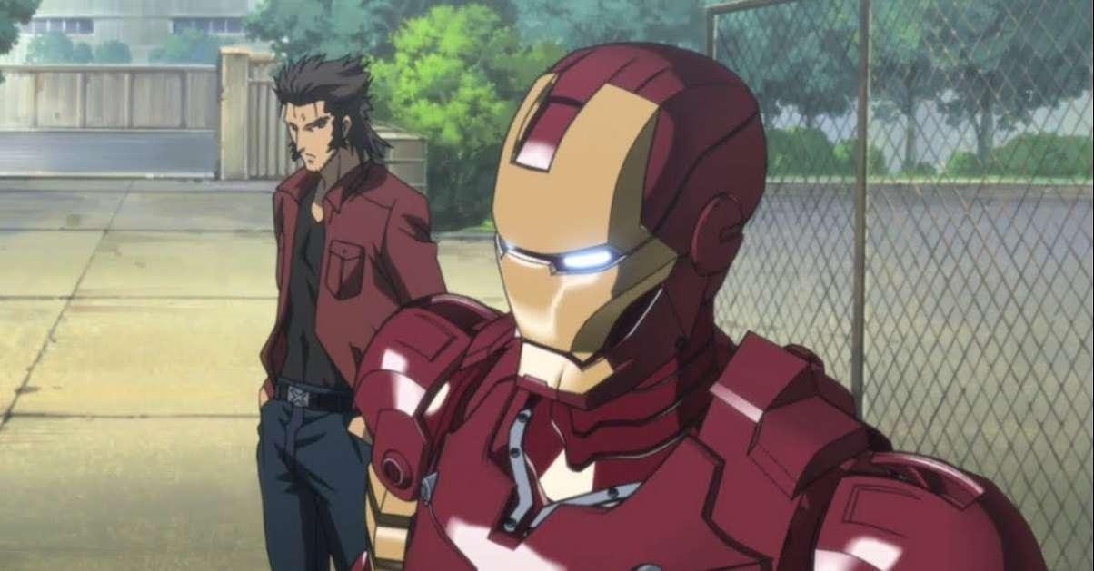 Marvel Wolverine Iron man