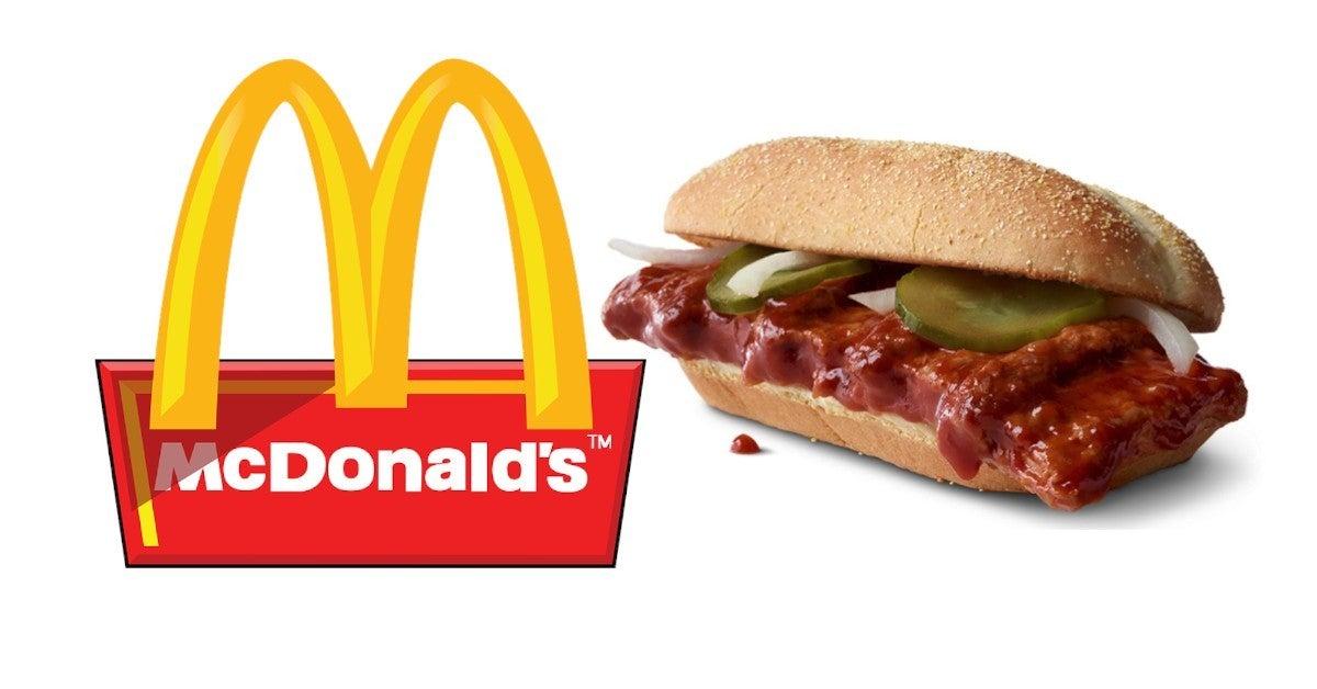 McDonalds McRib is Back Returns Fan Reactions
