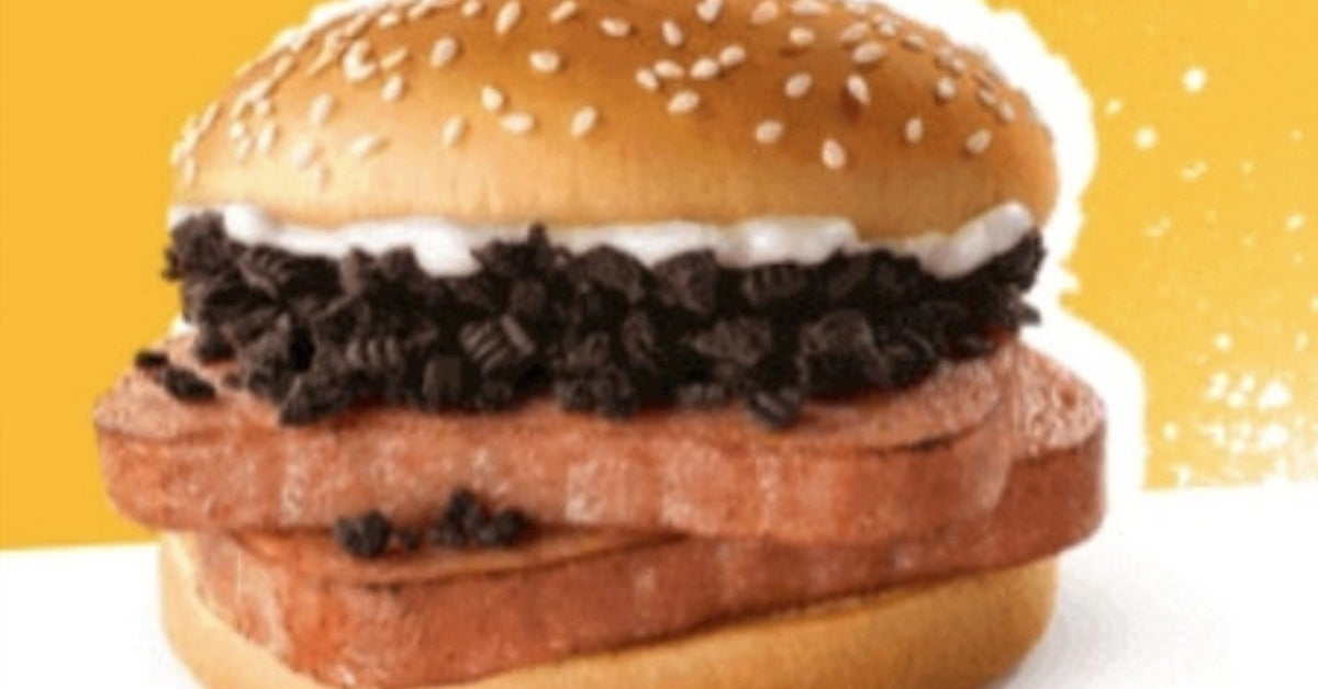 mcdonalds spam oreo sandwich