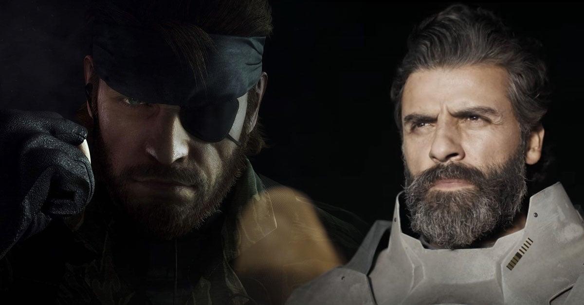 Metal Gear Solid Oscar Isaac
