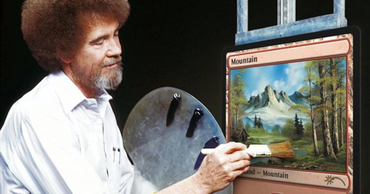 Magic: The Gathering Arena Gives Bob Ross Lands Away Free [Updated]