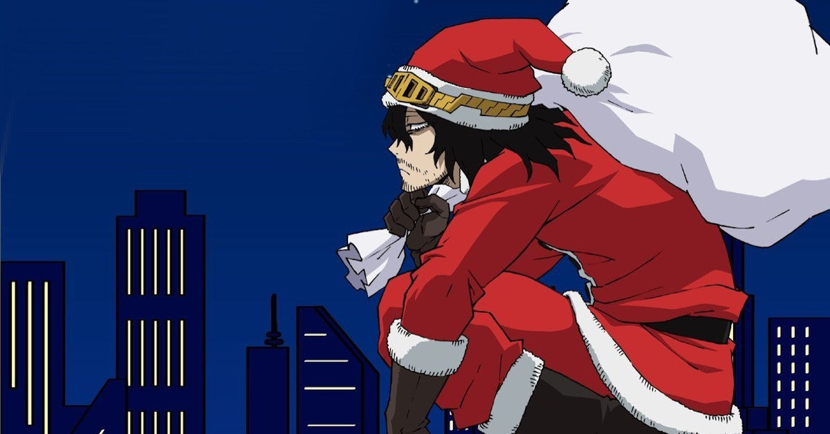 My Hero Academia Christmas 2020 Promo Santa Aizawa