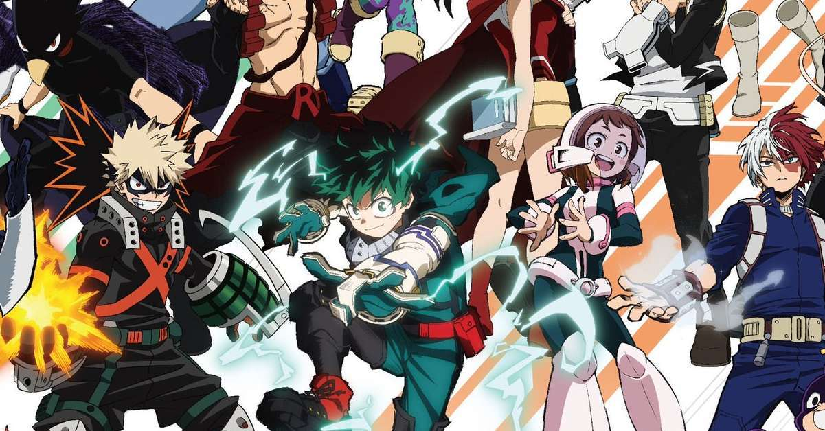 My Hero Academia Key Visual