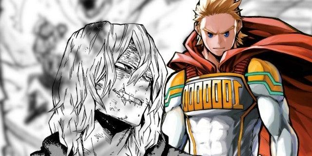 My Hero Academia Manga 294 Spoilers Mirio Lemillion vs Shigaraki