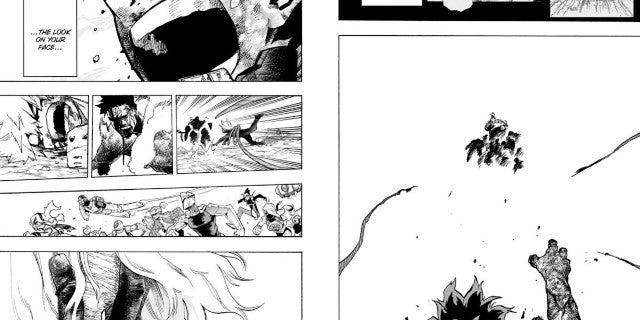 My Hero Academia Manga 295 Spoilers Izuku Midoriya Saves Tomura Shigaraki