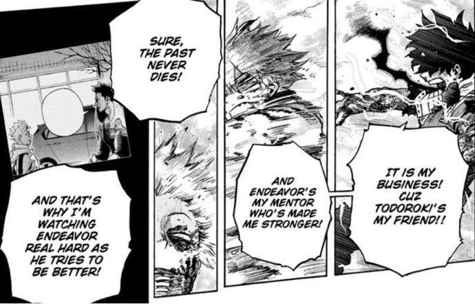 My Hero Academia Manga Endeavor