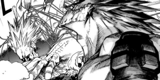 My Hero Academia Why Gigantomachia Passed Out Explained Spoilers Manga