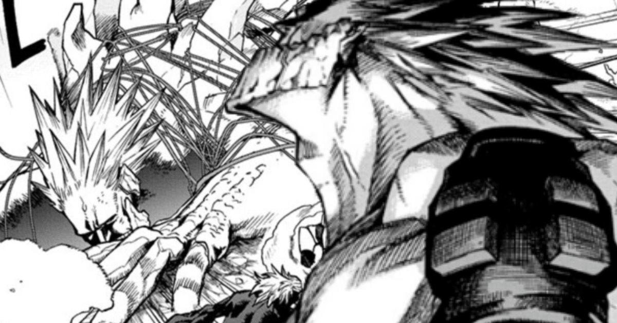 My Hero Academia Explains Why Gigantomachia Finally Passed Out