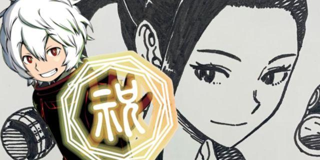 My Hero Academia World Trigger Daisuke Ashihara Art