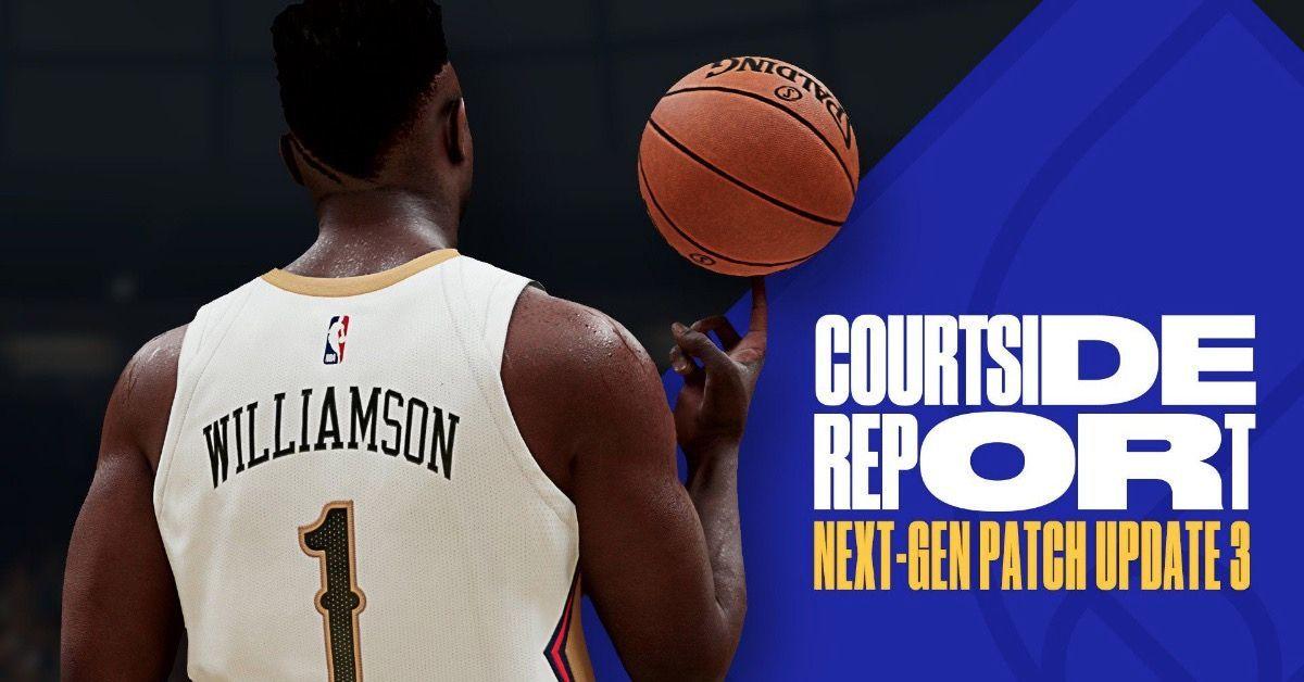 NBA 2K21 Update 3