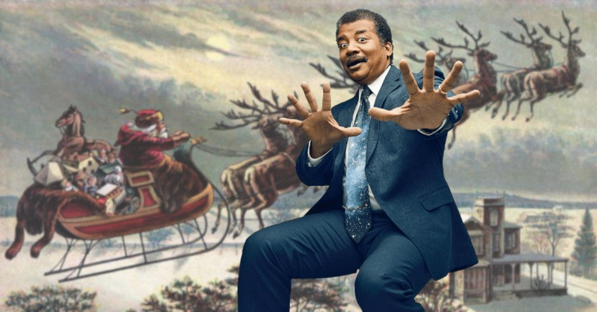 Neil deGrasse Tyson Santa Reindeer Female Gender Rudolph