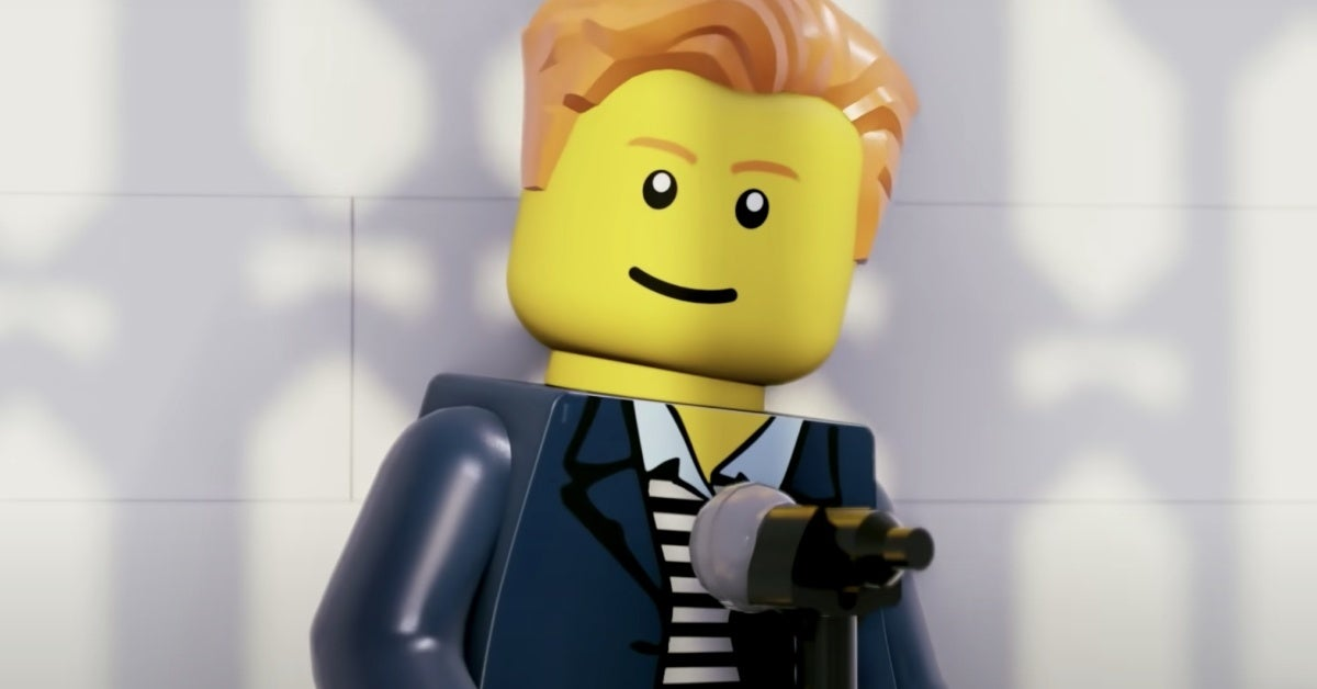 never gonna give you up rick astley lego