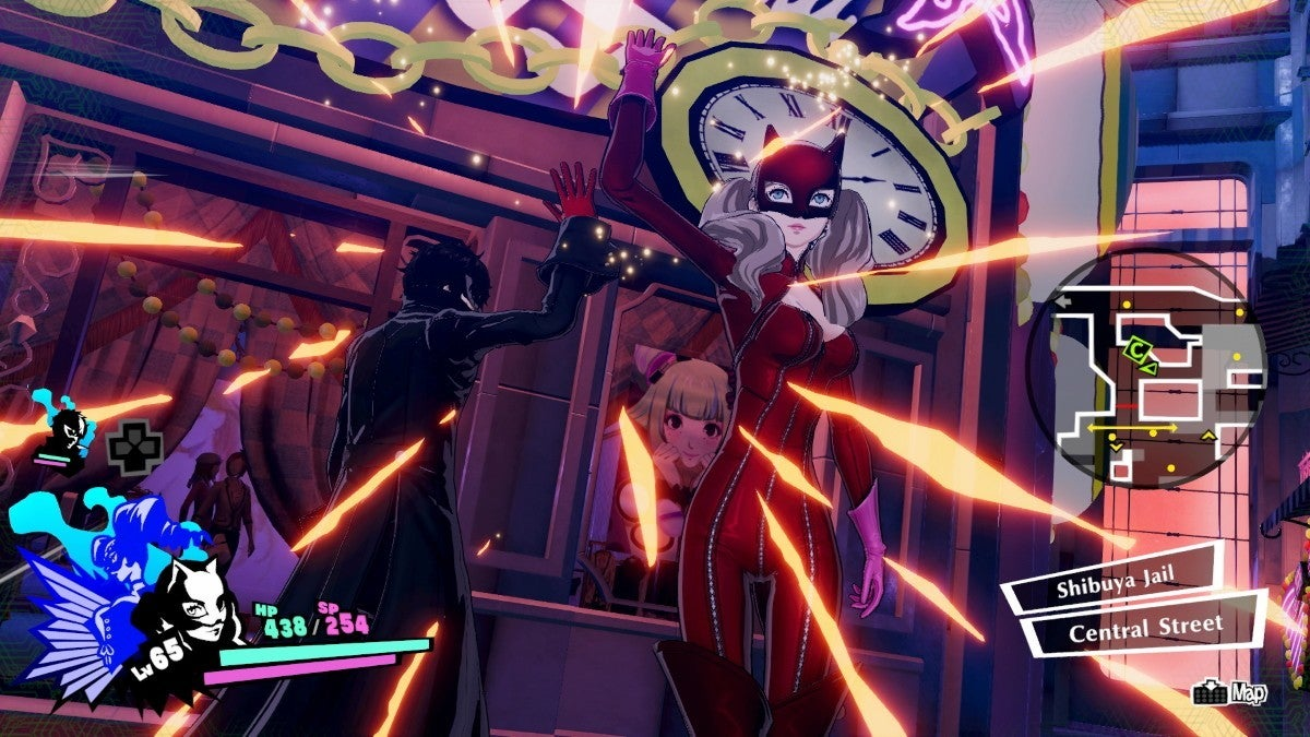 persona 5 strikers ann new cropped hed