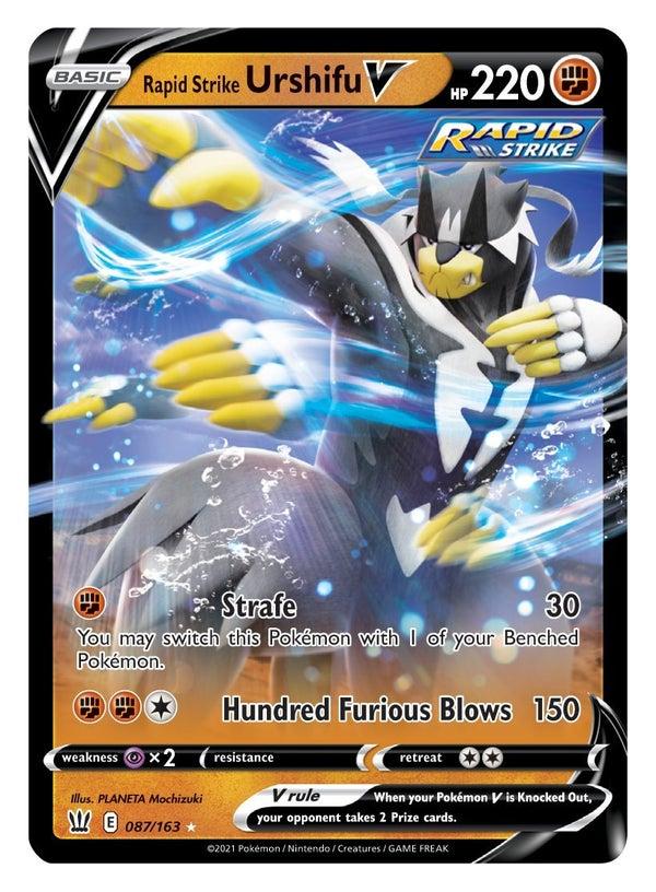 Pokémon TCG Sword & Shield Battle Styles_Rapid Strike Urshifu V (87)