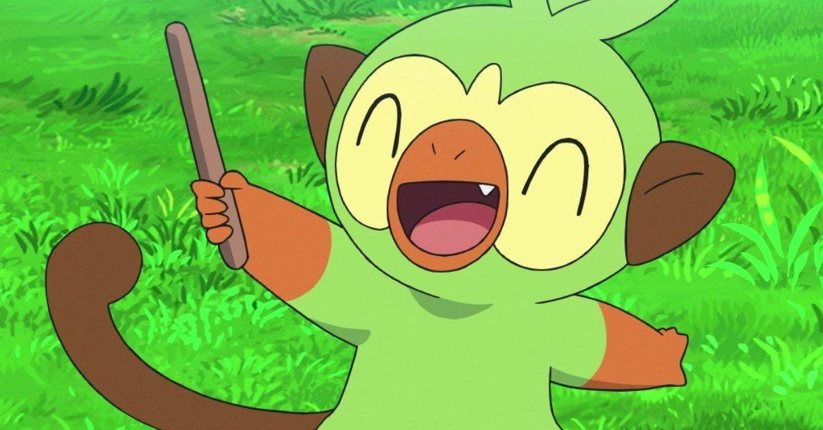 Pokemon Journeys Grookey Anime Debut