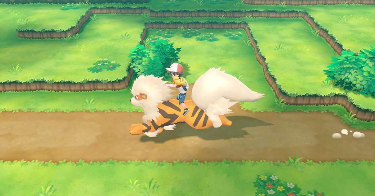 Pokemon Let's Go Arcanine