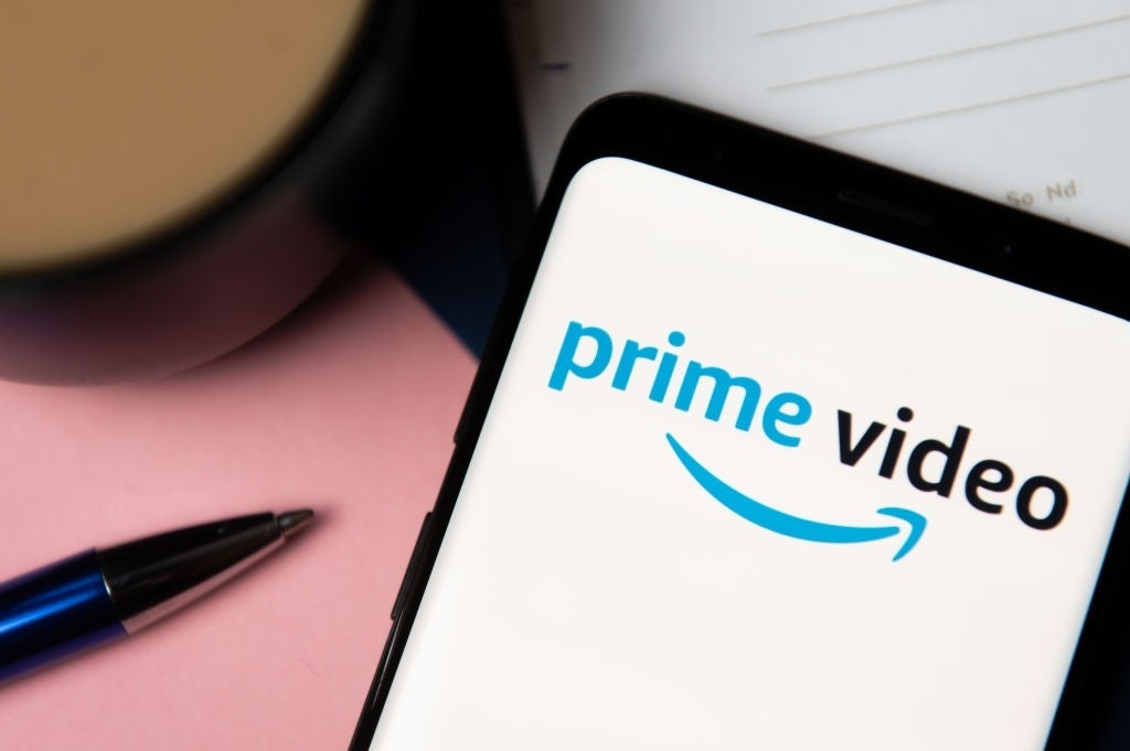 prime video logo phone