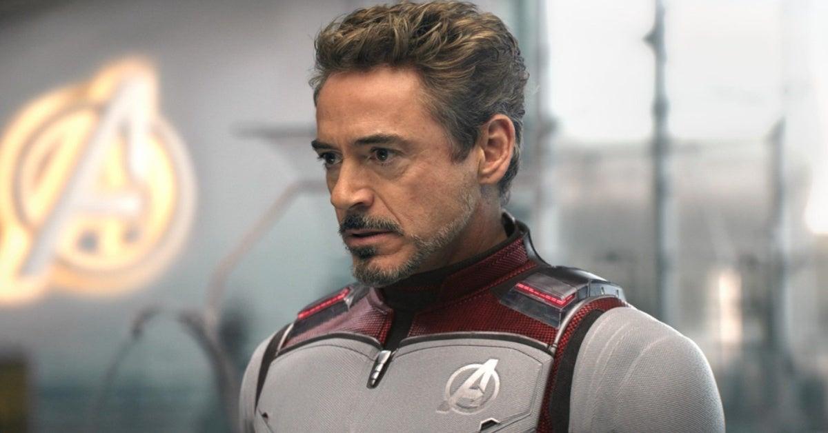 Robert Downey Jr Iron Man Marvel Avengers Endgame
