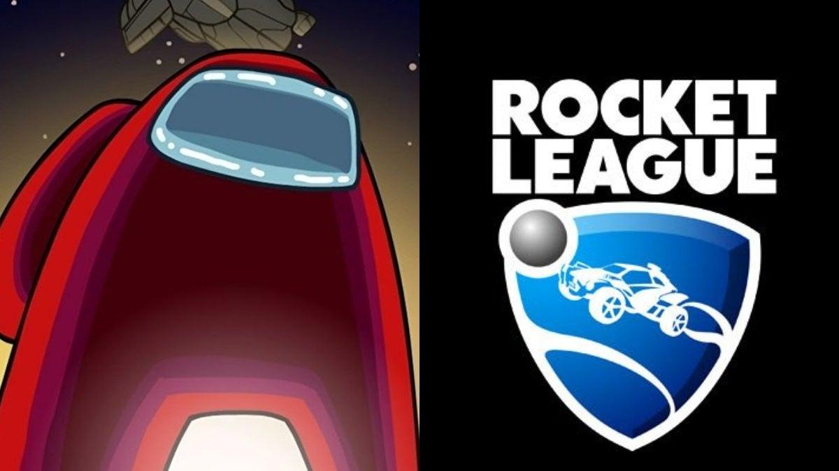 rocket league among us