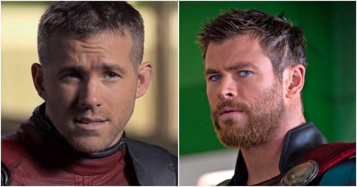 Ryan Reynolds Deadpool Chris Hemsworth Thor