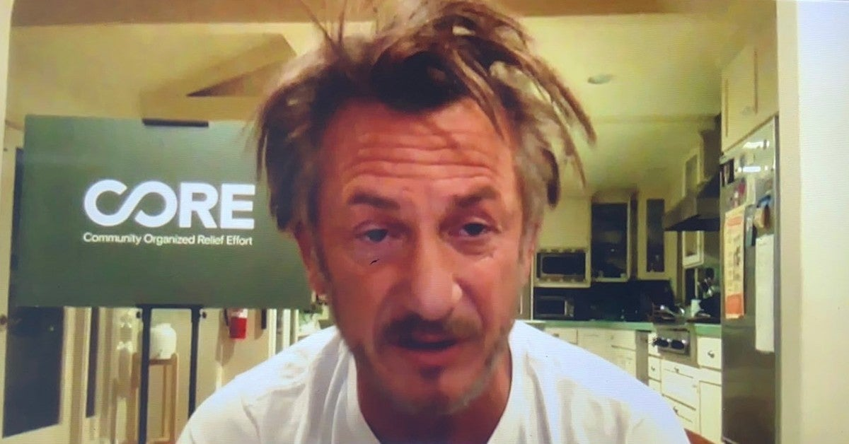 Sean Penn Hair Morning Joe 2020 Trending